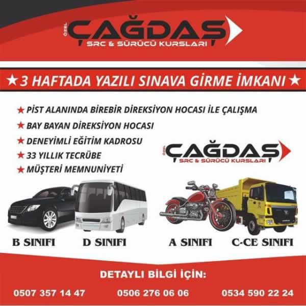 Diyarbakır Çağdaş Sürücü Kursları
